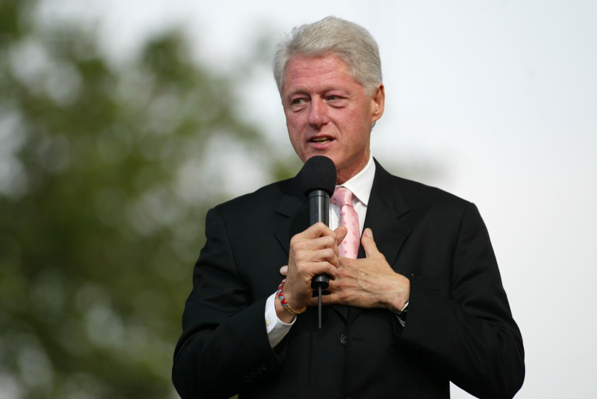 bill clinton adopted celebrities