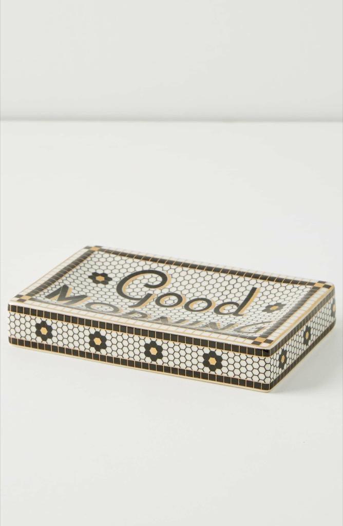 Soap tray accessory
