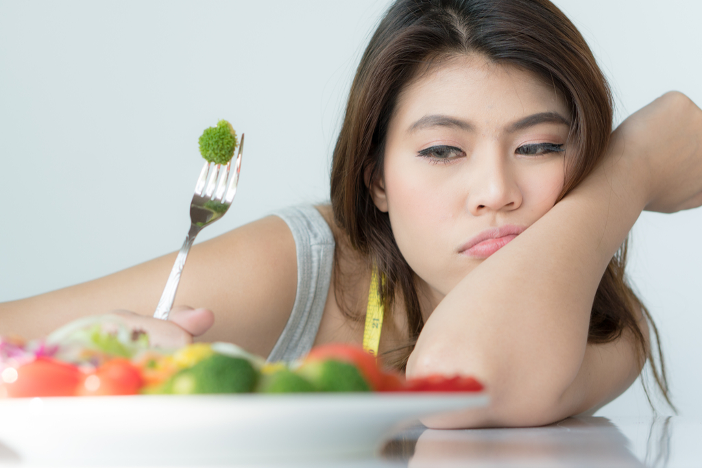 Dieting Woman Anti-Aging Tips You Should Forget