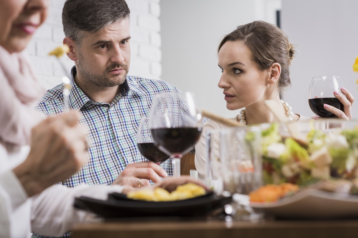 Family Fighting Dealing with Holiday Stress