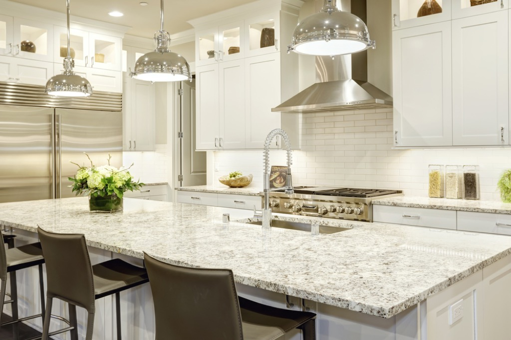 granite counters, home upgrades