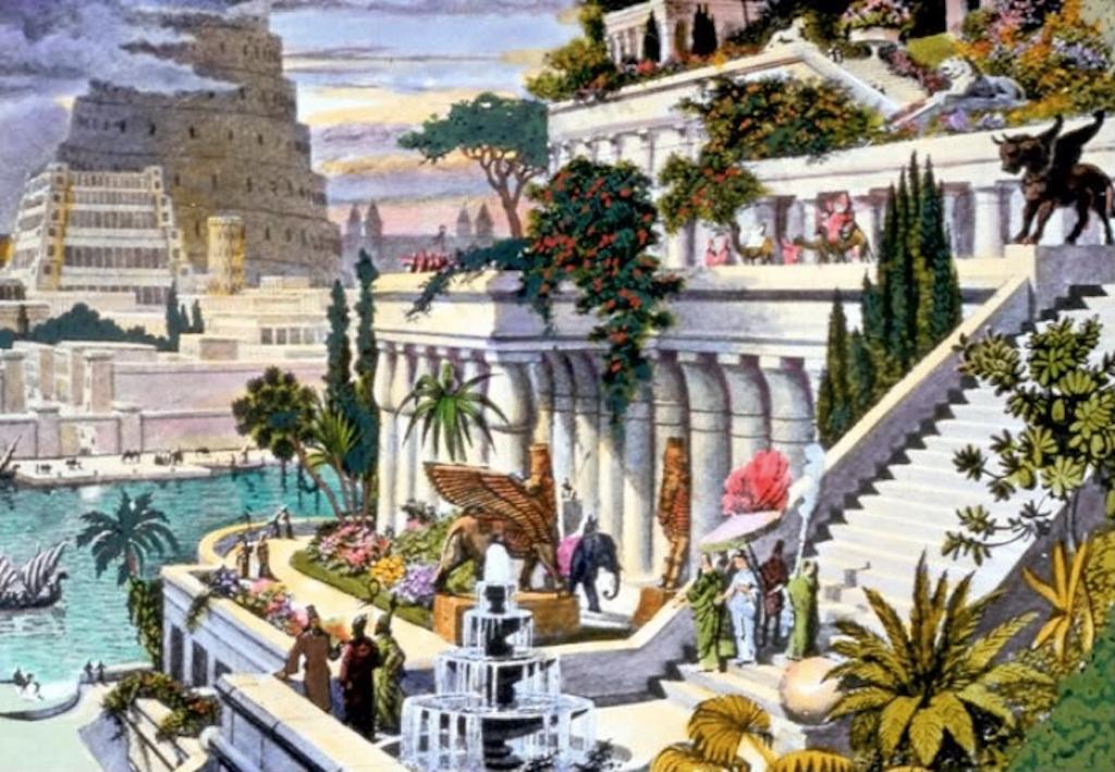 Hanging Gardens of Babylon History's Greatest Mysteries