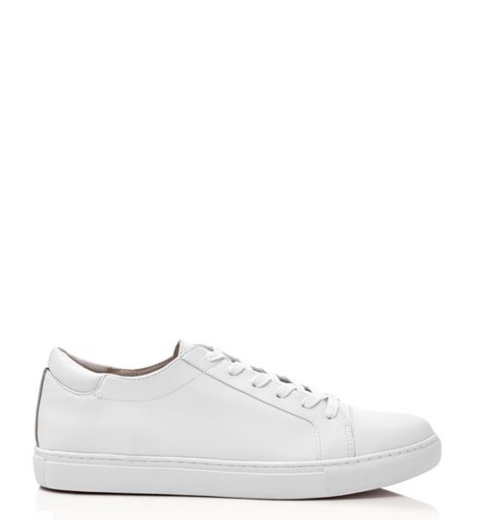 white sneakers over 50 accessories