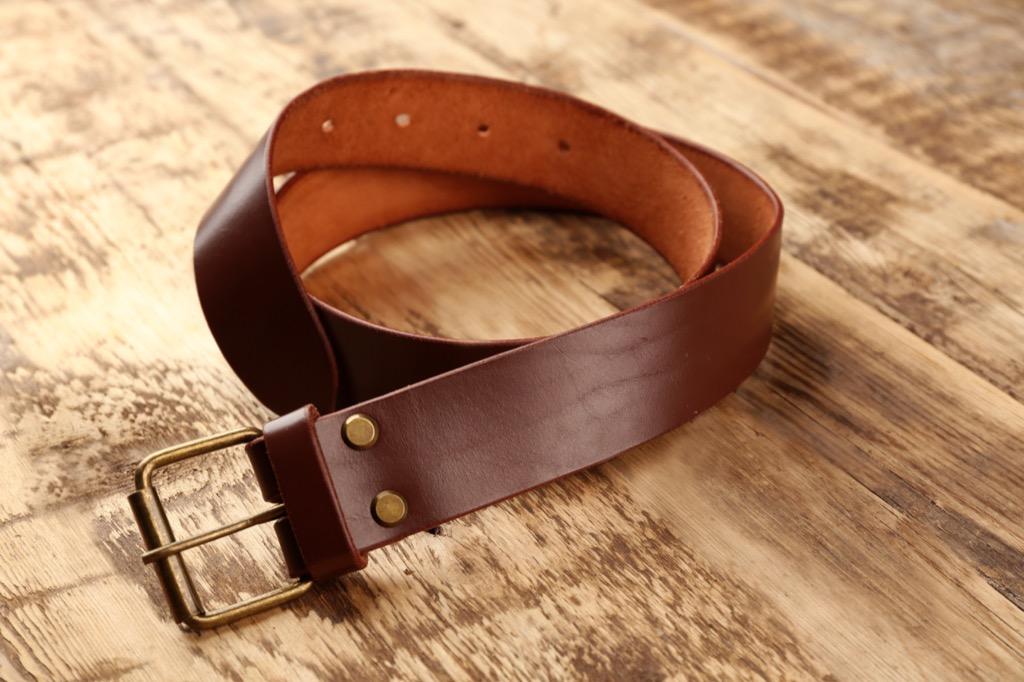 leather belt, bad parenting advice