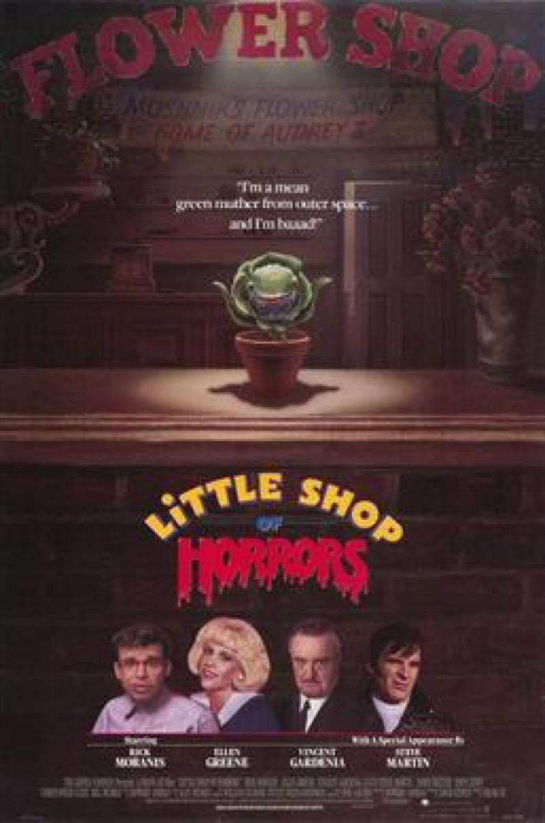 Little Shop of Horrors Happy Movies That Almost Got Sad Endings