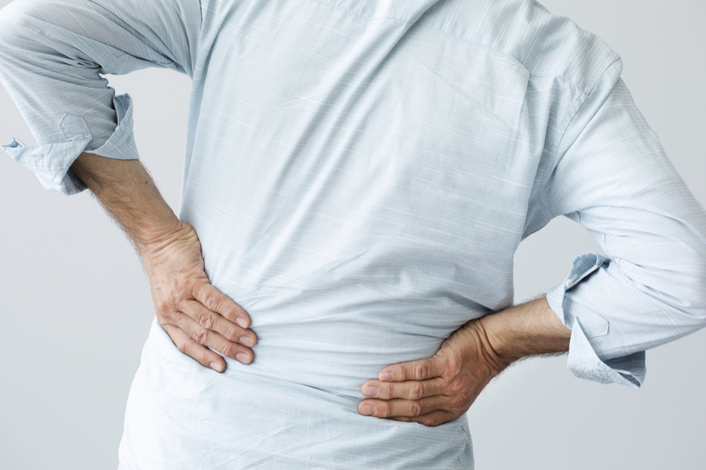 Man with Inguinal Hernia {Pain in Your Side}
