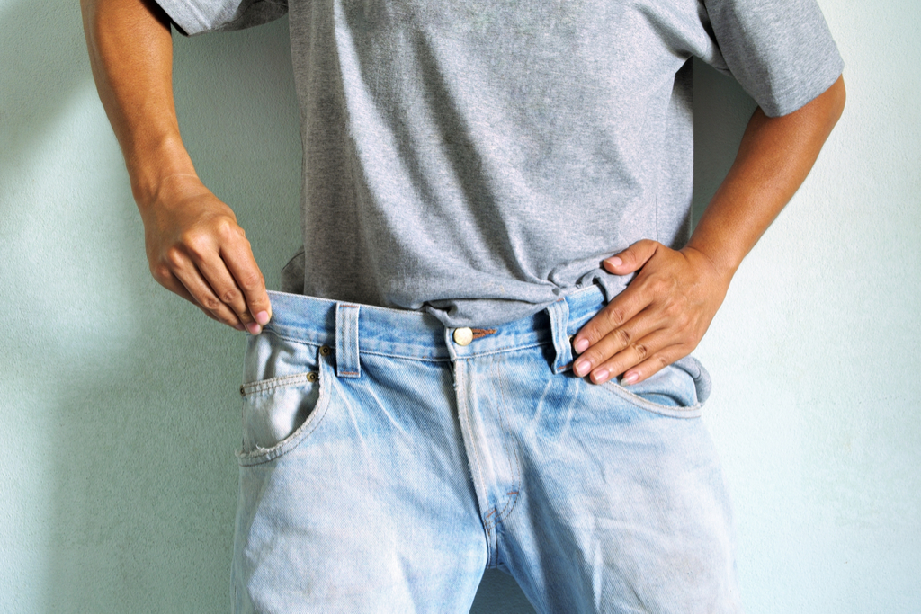 Man with Stretch Jeans Clothing Choices Making You Look Older
