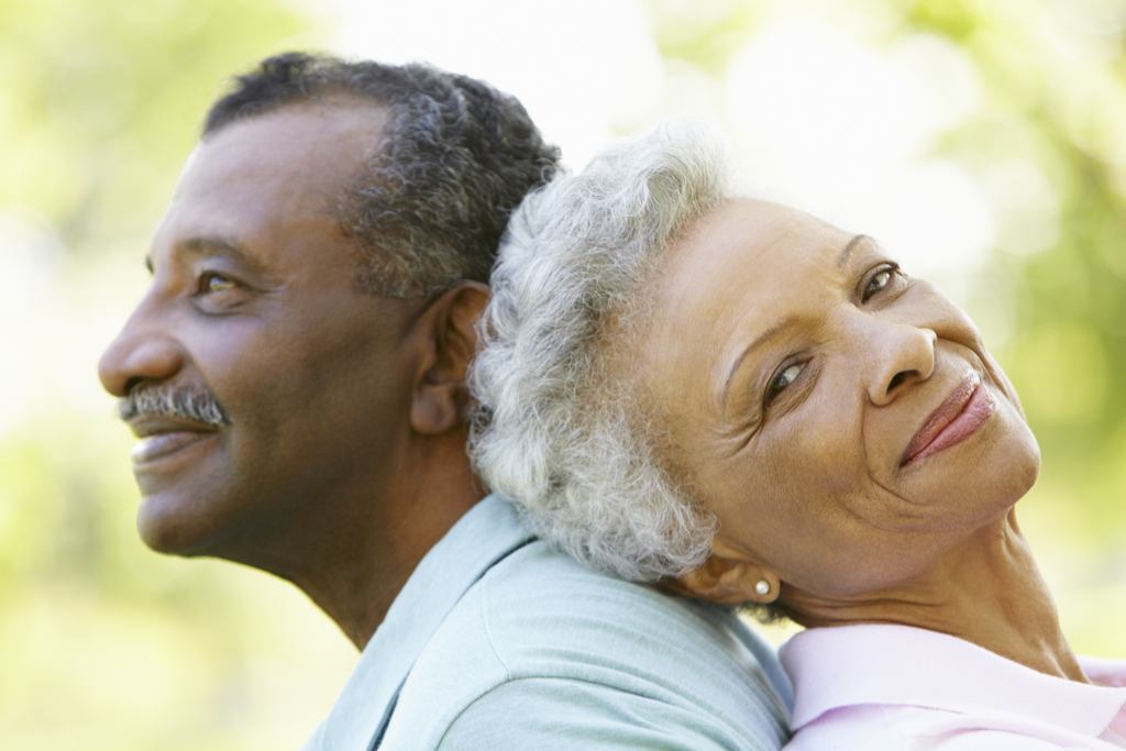 Older Couple Anti-Aging Foods {priorities after 50}