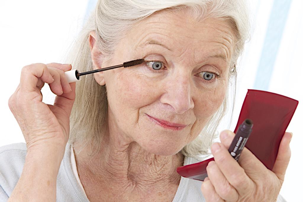 eye makeup tricks over 50, makeup for older women