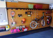 beautiful organized garage