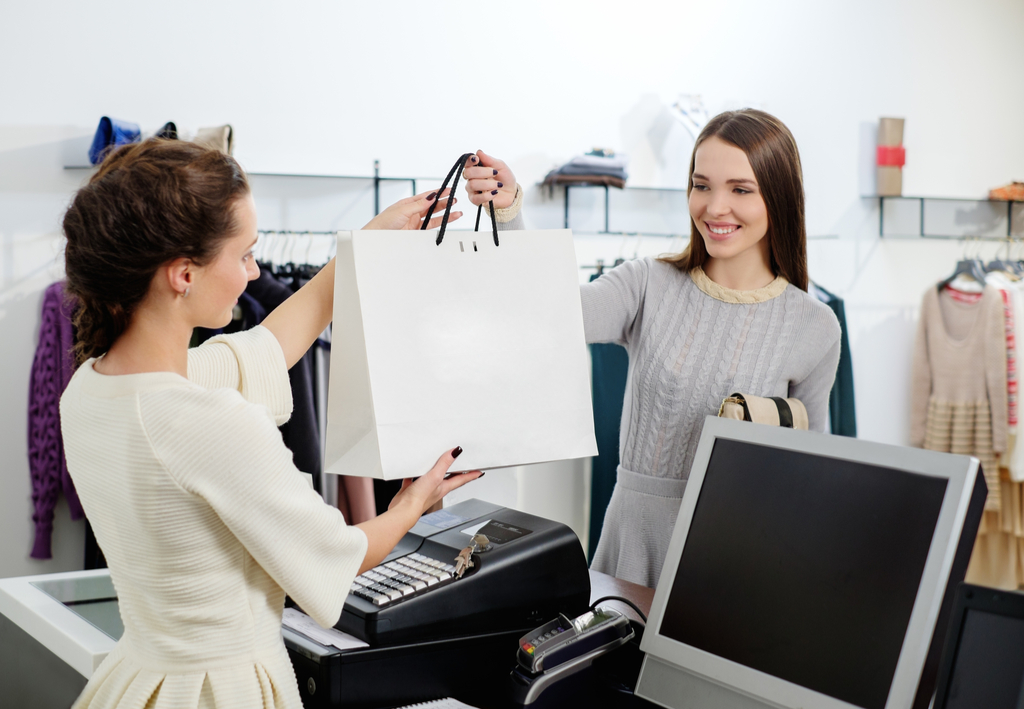 Paper Bag at Checkout Worst Things to Say to a Cashier