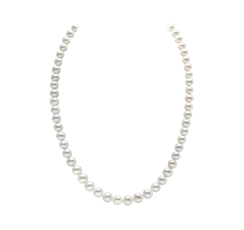 pearl necklace over 50 accessories