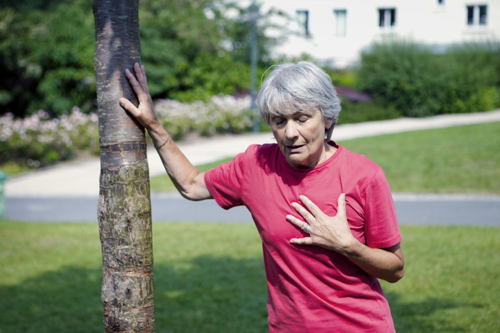 Person in Pain Outdoors Stop Lying to Your Doctor