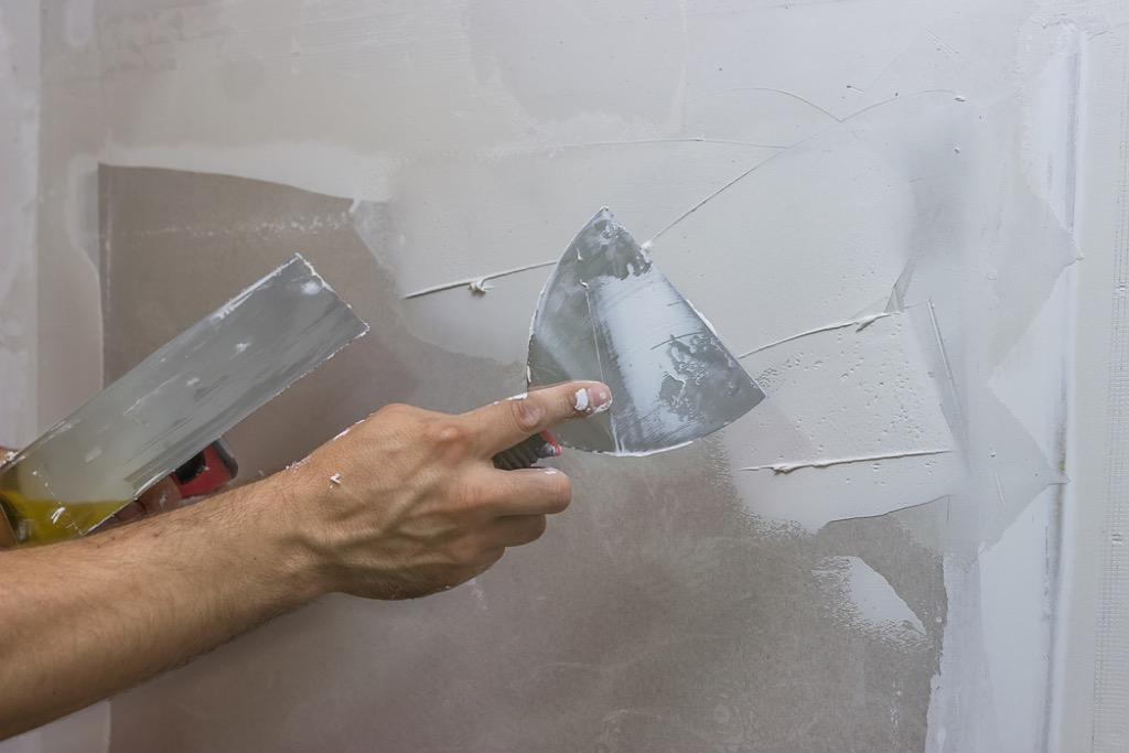 cracked wall home maintenance tasks