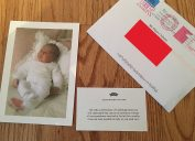 prince harry and meghan markle thank you card