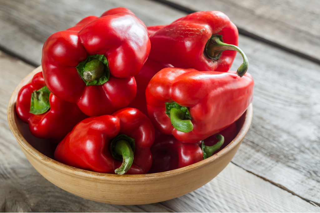 Red Bell Peppers {Common Cold Treatment}