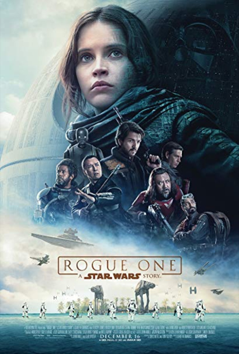 Rogue One a Star Wars Story Movie Poster {Happy Alternate Movie Endings}