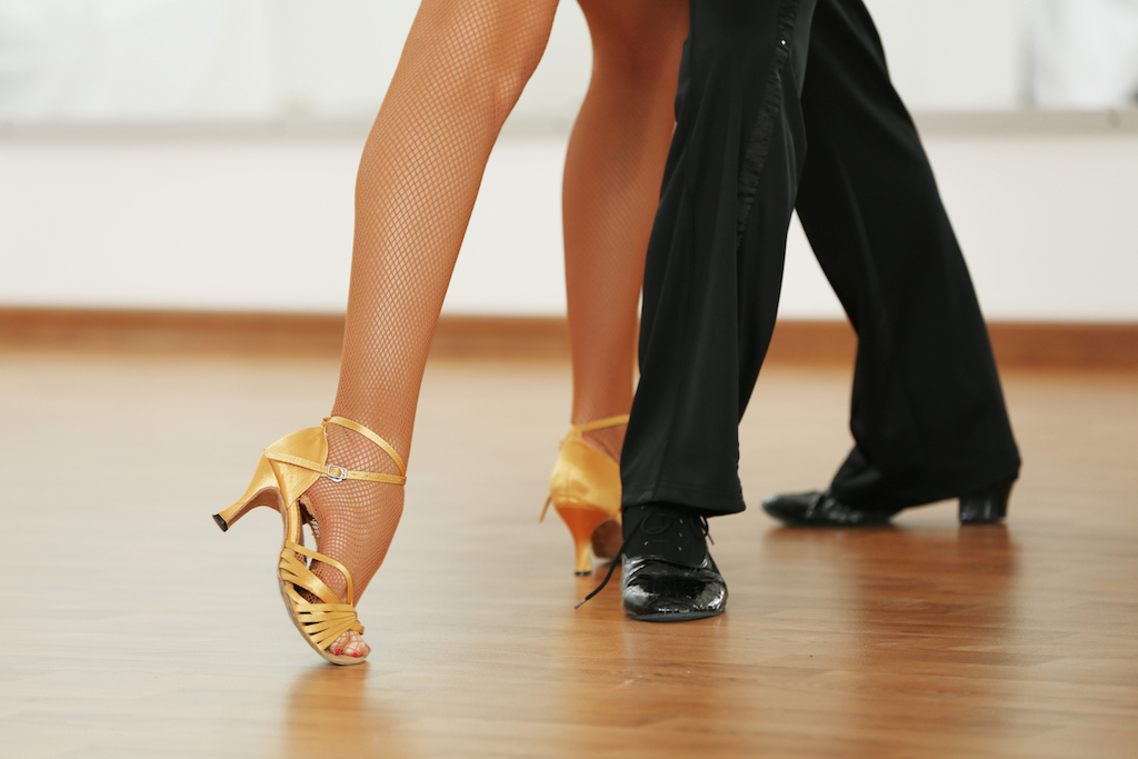 two adults salsa dancing {Scary Urban Legends}