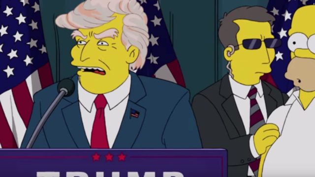 simpsons tv shows predicted the future