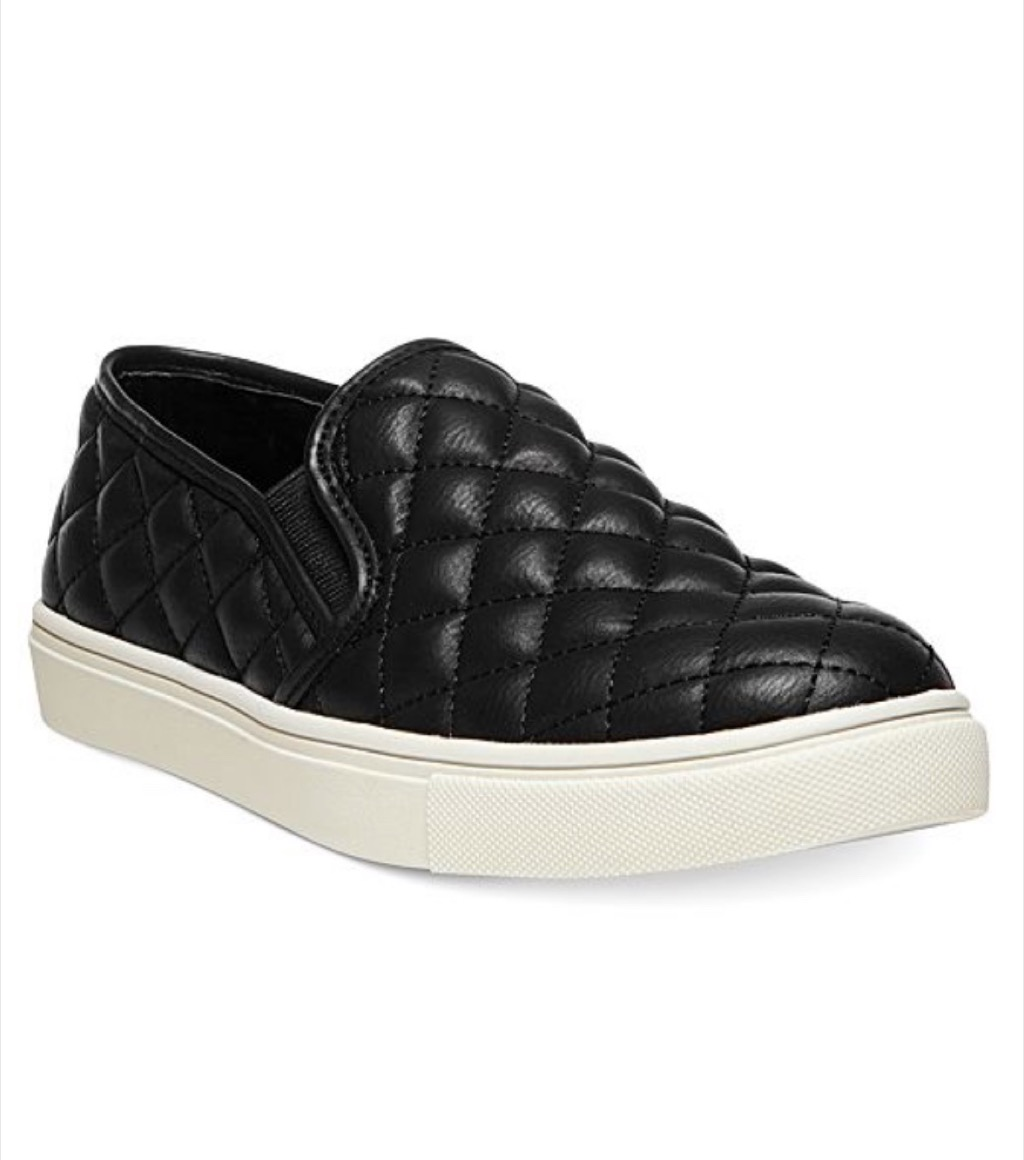 black sneakers over 50 accessories