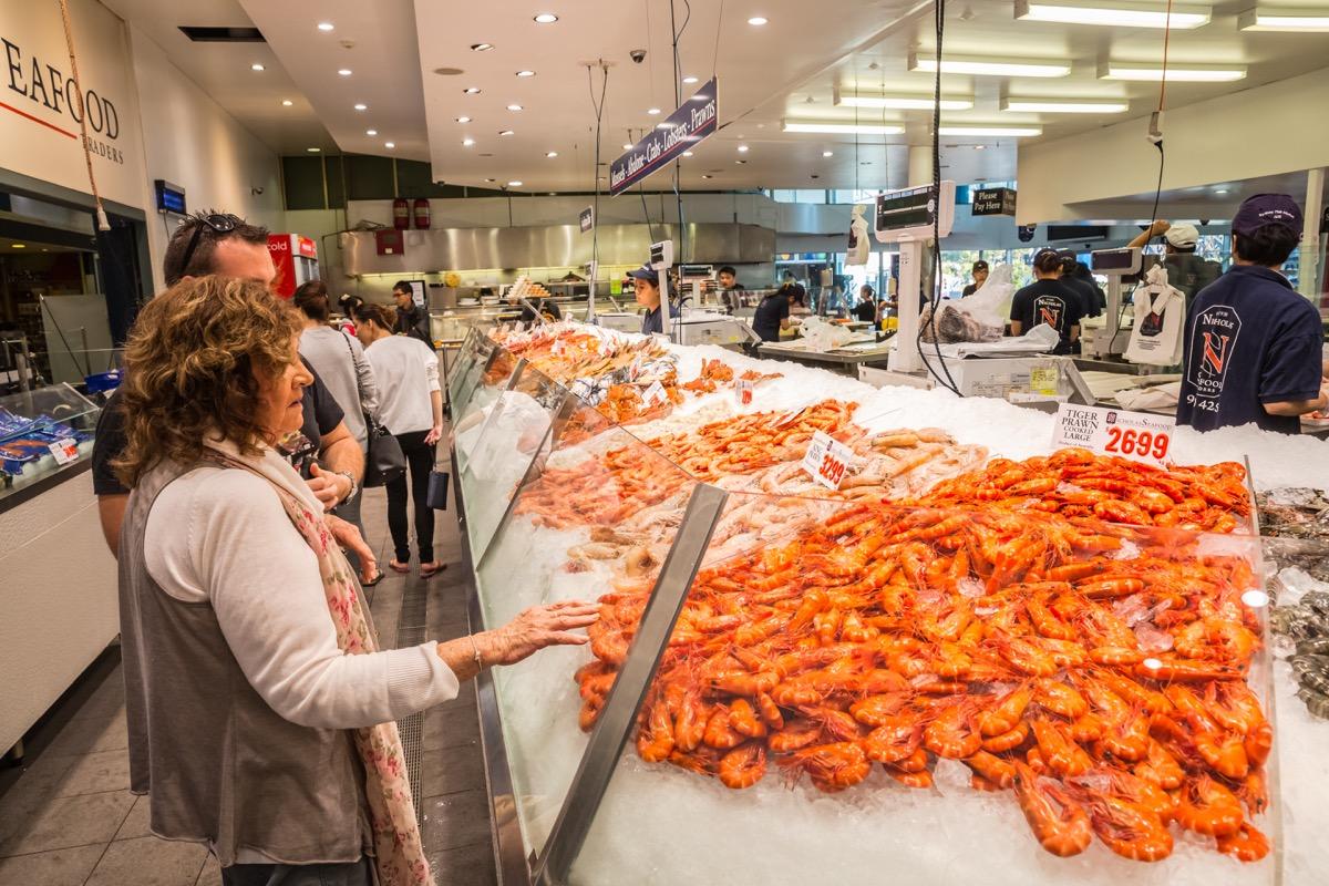 Sydney Fish Market Tourist Traps