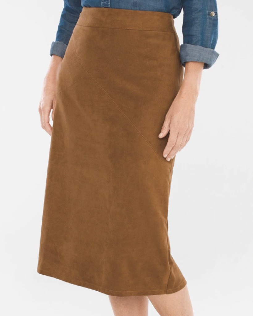 Woman in Tan Skirt Clothing Choices Making You Look Older