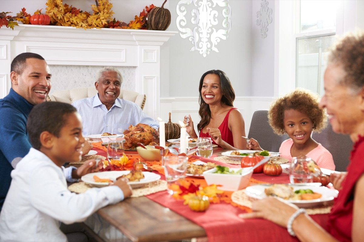 Thanksgiving Dinner Dealing with Holiday Stress