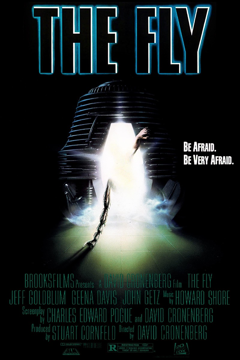 The Fly movie poster {happy alternate movie endings}