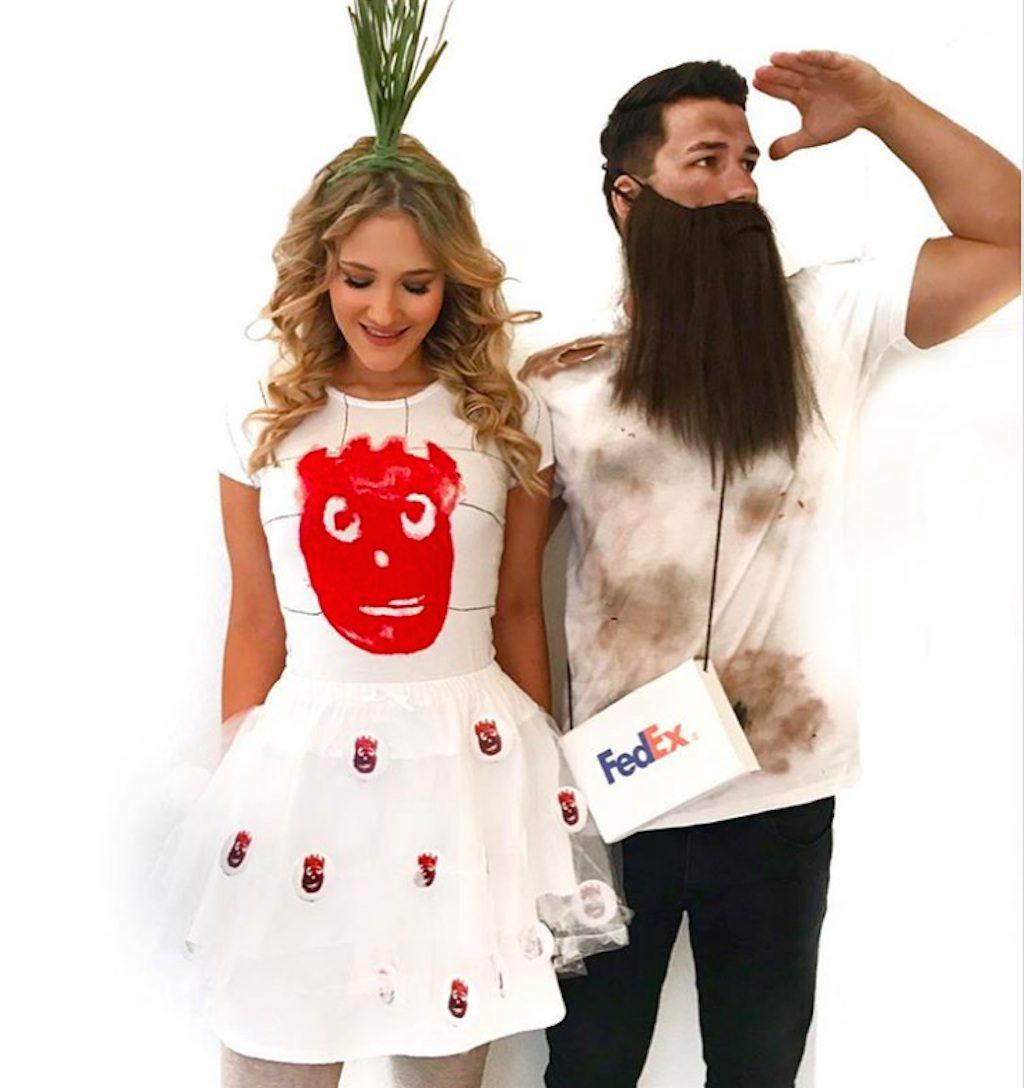 castaway couples' costume
