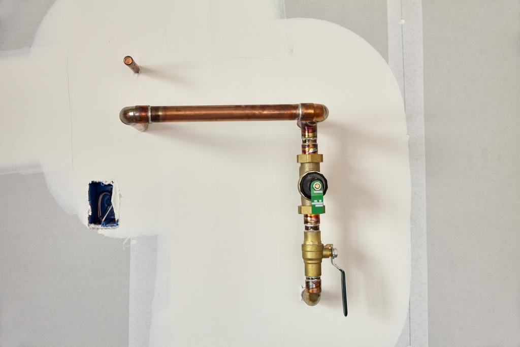 water pipe home maintenance tasks
