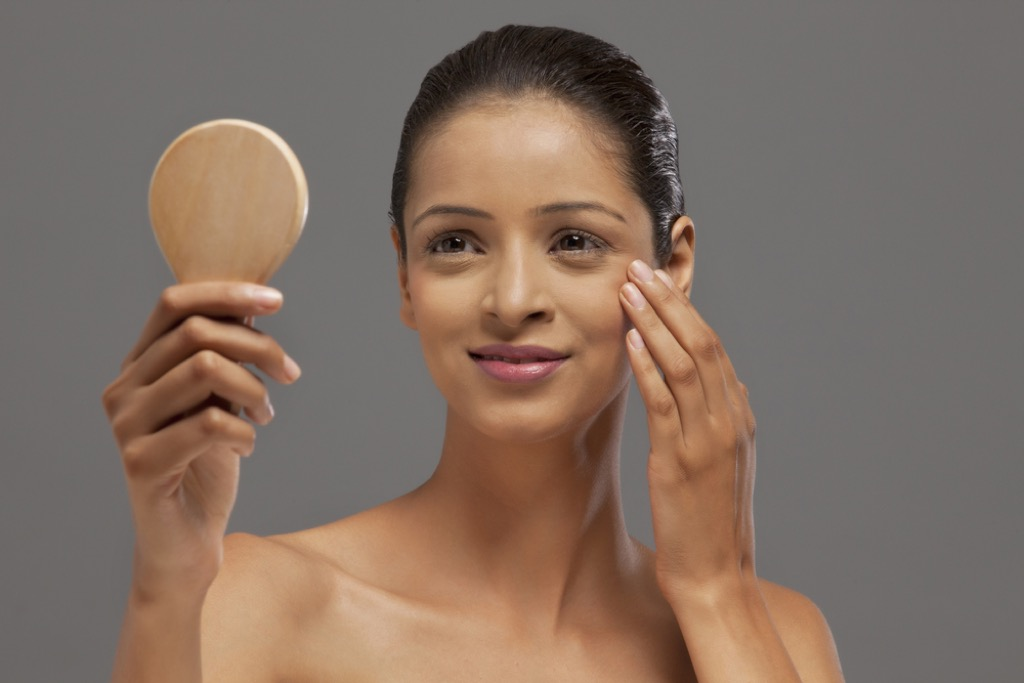 makeup mistakes, look better after 40
