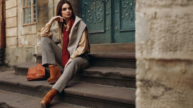 Woman Layering Clothes Surprising Features on Your Clothes