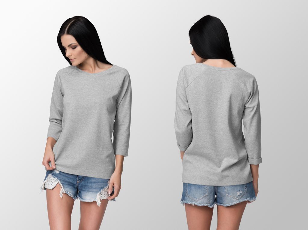 Woman Wearing Long Shirt Clothing Choices Making You Look Older