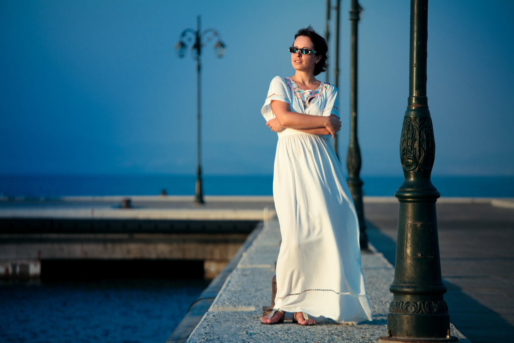 Woman Wearing Maxidress Clothing Choices Making You Look Older