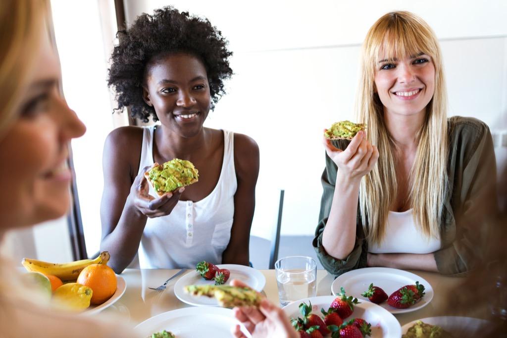 millennials eating avocado toast, smart person habits