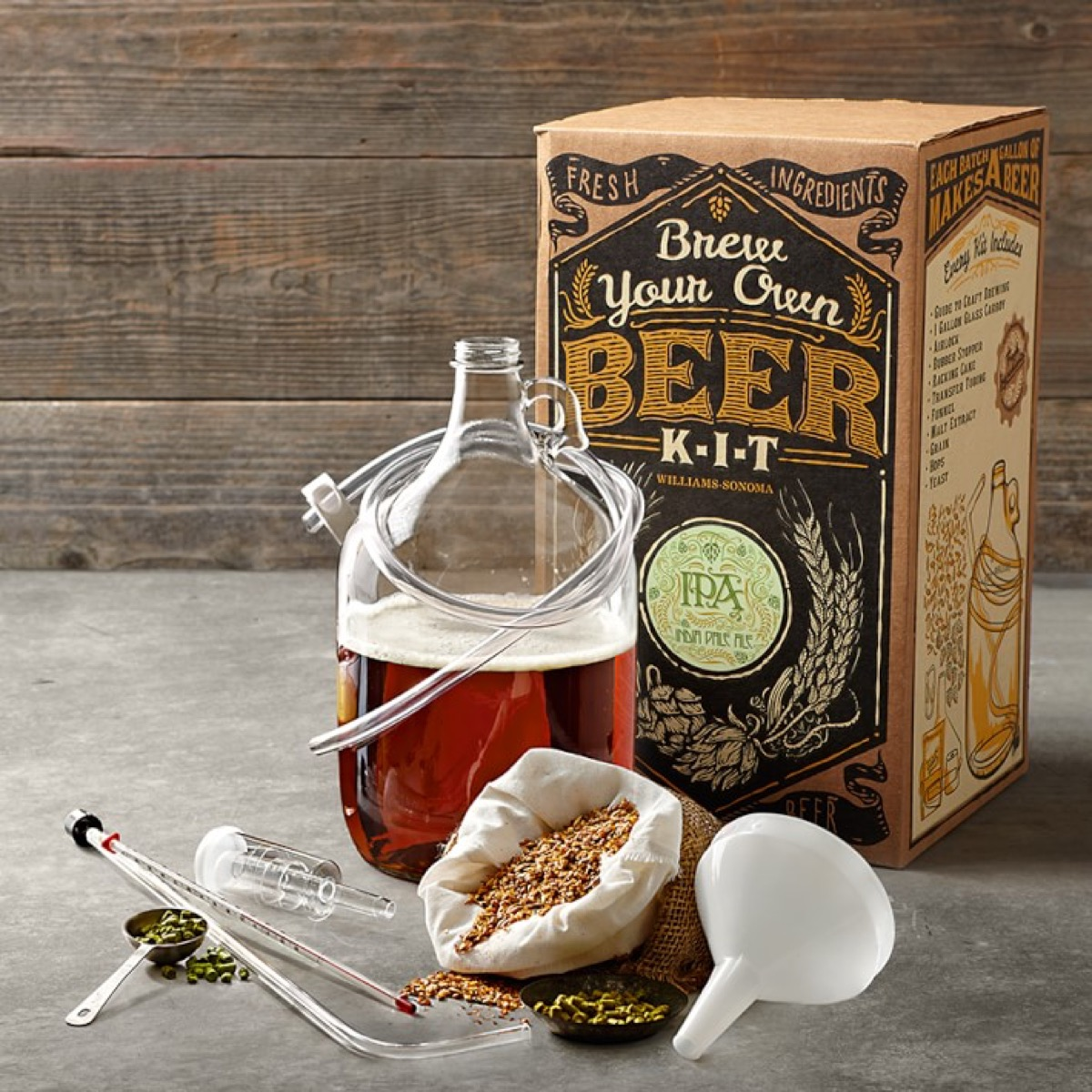Make Your Own Beer Kit {Christmas Gift Ideas}