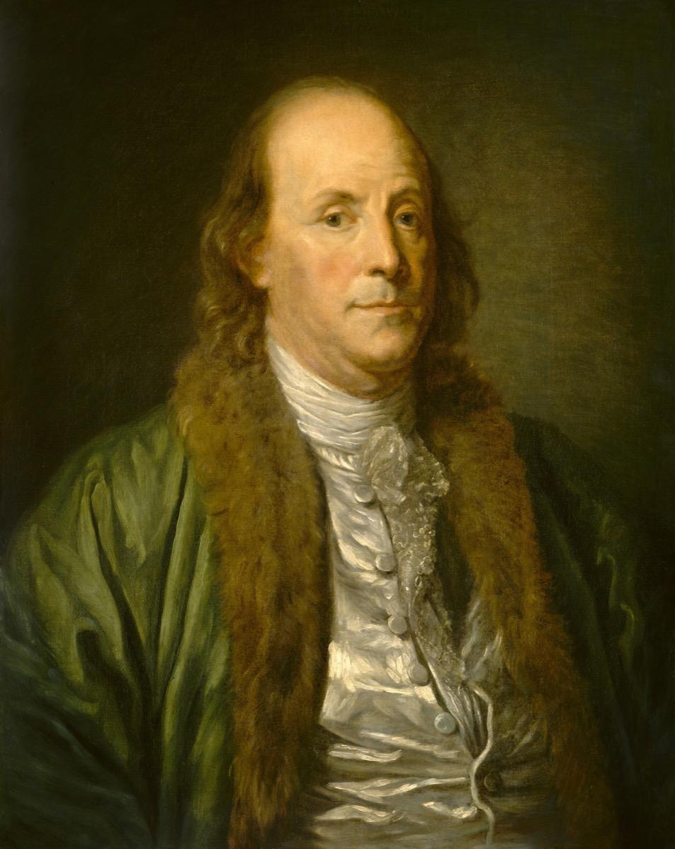 portrait of benjamin franklin by jean baptiste greuze