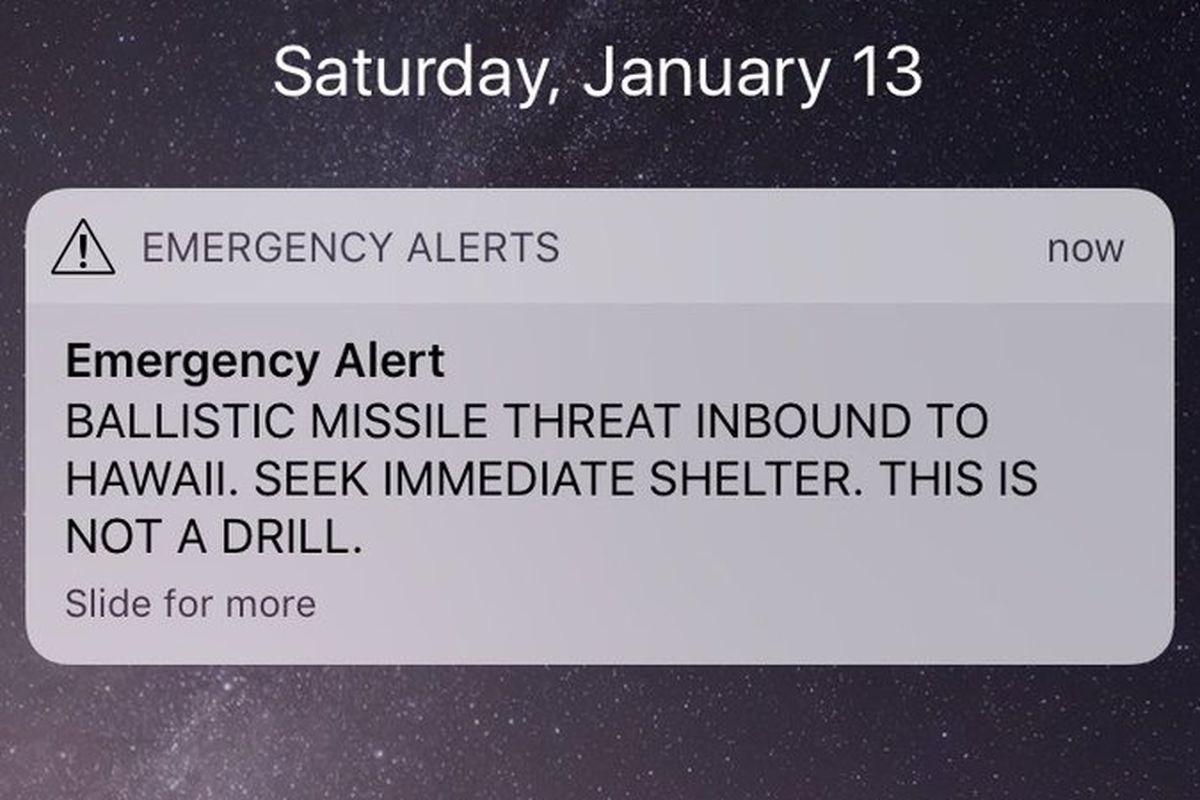 hawaii missile threat 2018 pop culture