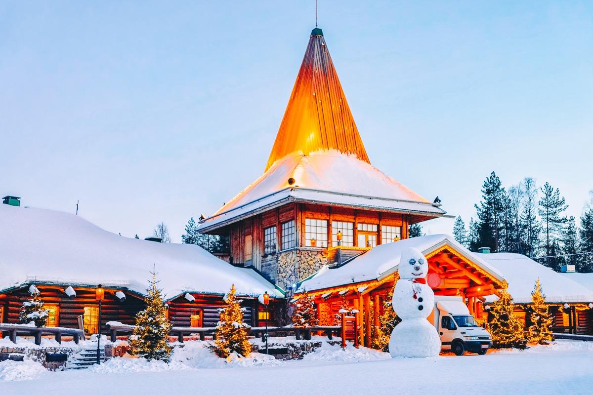 Rovaniemi, Finland santa facts