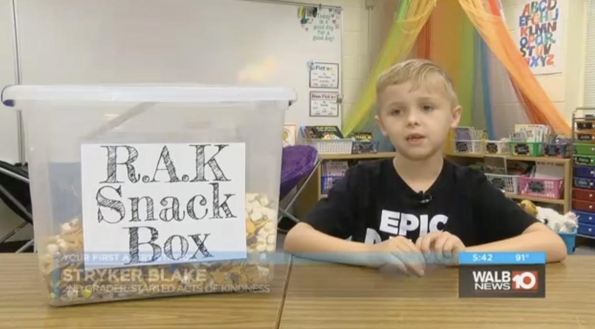 Student Snacks Kindness