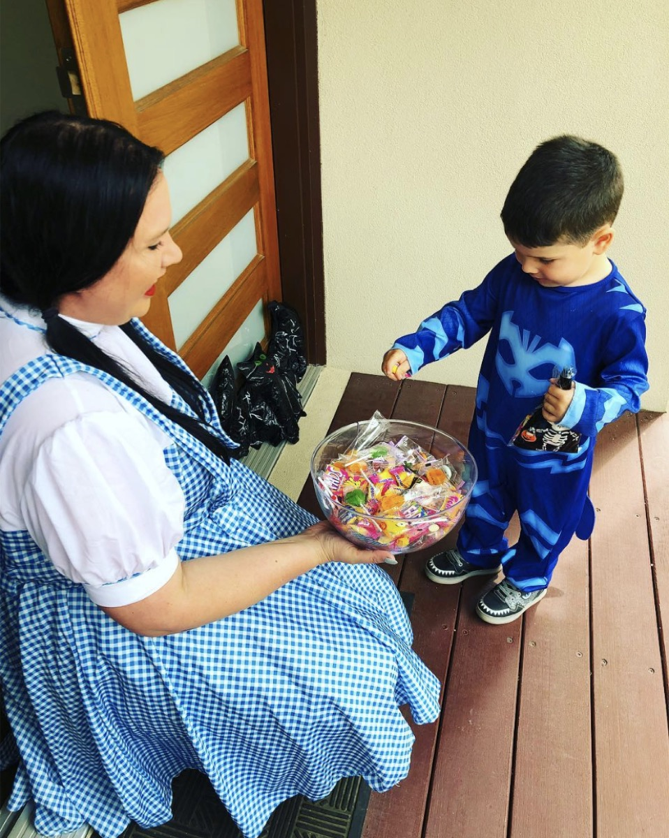 Halloween candy costumes