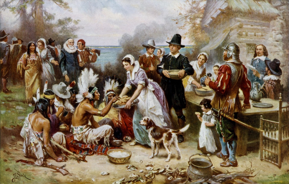The First Thanksgiving historical facts