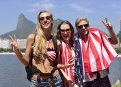 american tourists in rio brazil