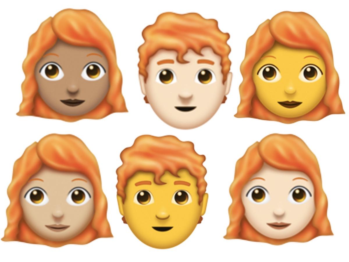 redhead-emojis 2018 pop culture