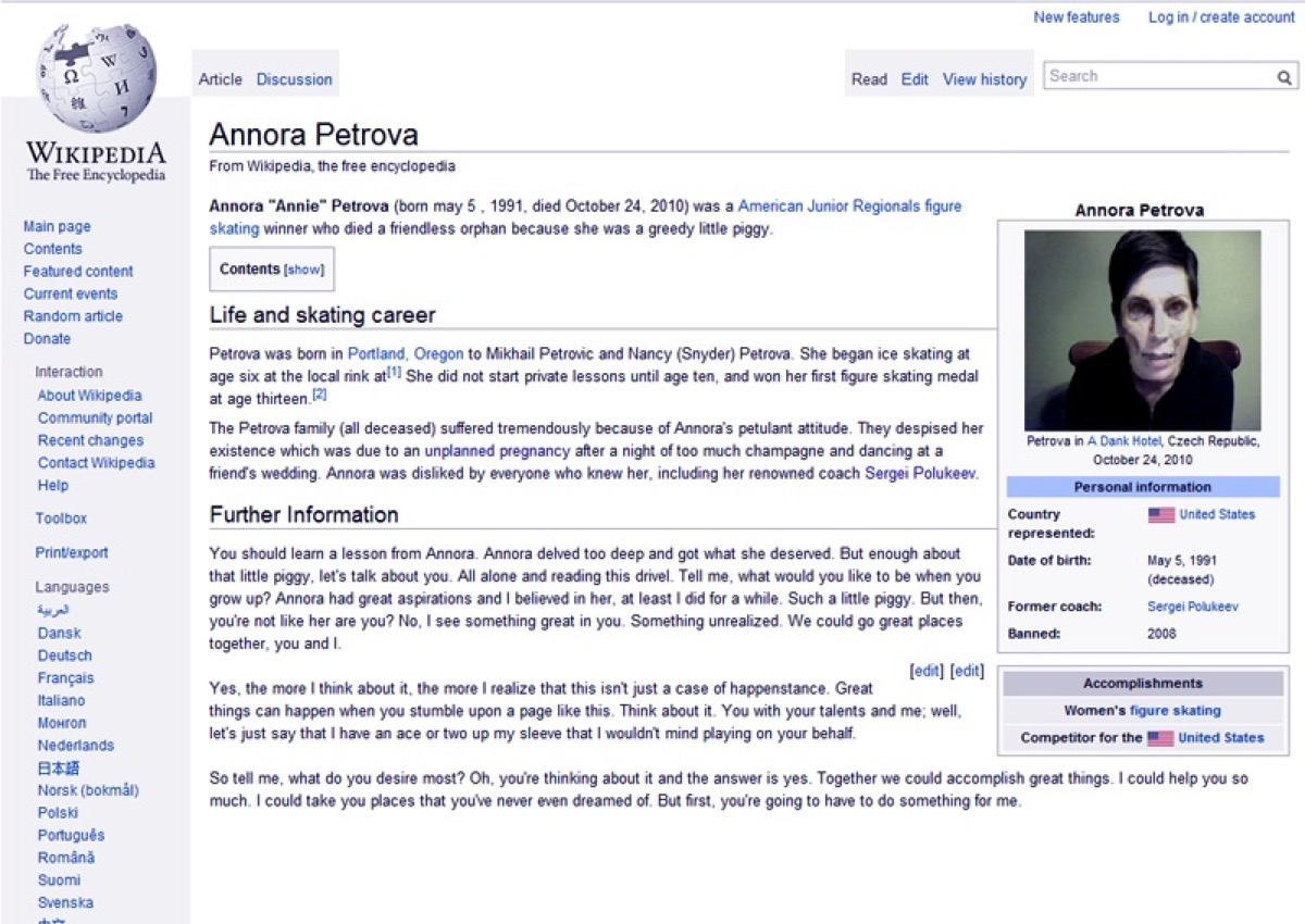 Annora {Scary Urban Legends}
