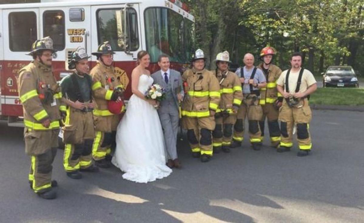 Avon Fire Department Wedding
