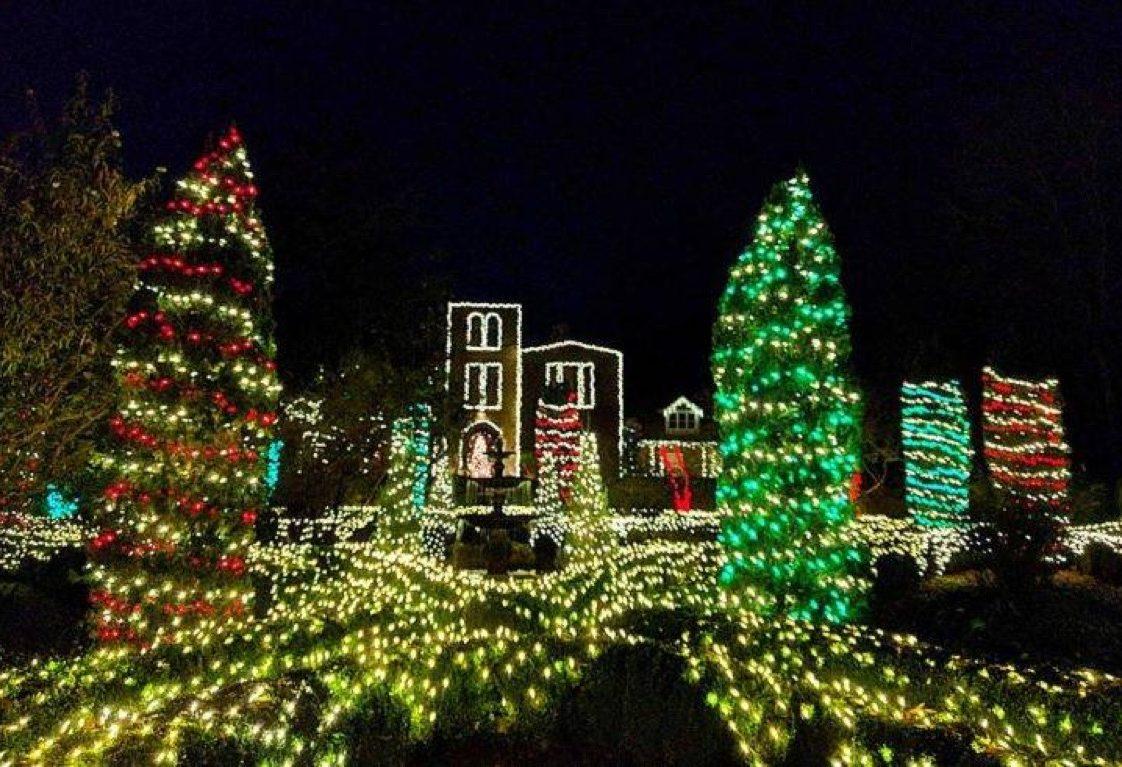 Barnsley Resort Christmas Trees State Christmas Tree