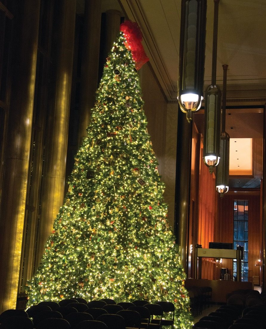 Bismarck North Dakota State Christmas Tree