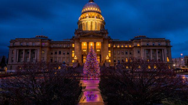 Boise Idaho State Christmas Tree