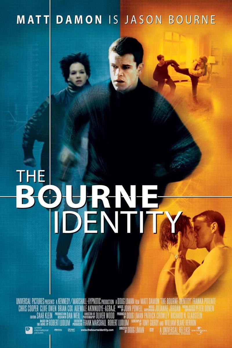 The Bourne Identity movie poster {happy alternate movie endings}
